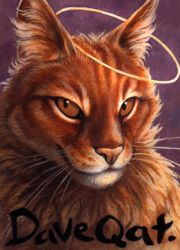 Conbadge for DaveQat by kenket
