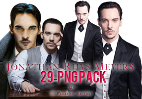 Jonathan Rhys Meyers PNG Pack 29 by Figure Artist by Patatabollente