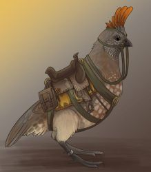 Elegant Quail by Ski-Machine