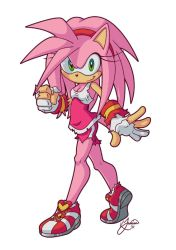 Amy Rose by TricksyPixel