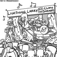 Lightning Larry and the Clan Shockers by Adam-Clowery