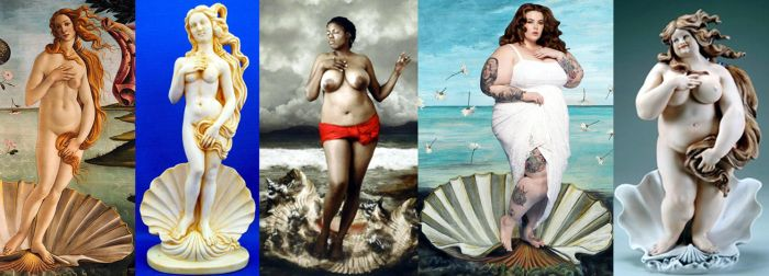Birth of the Venus in a BBW world by EnergyToBeauty
