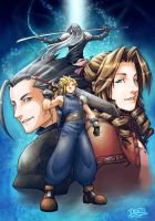 Final Fantasy 7 by kazuo by Austh