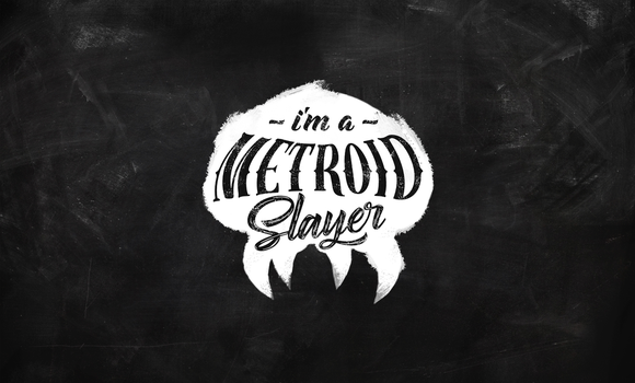 Metroid Slayer Wallpaper by samuelzea