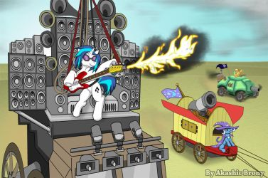 Vinyl Bass Warrior by Sword-of-Akasha