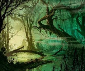 Swamp by d1eselx