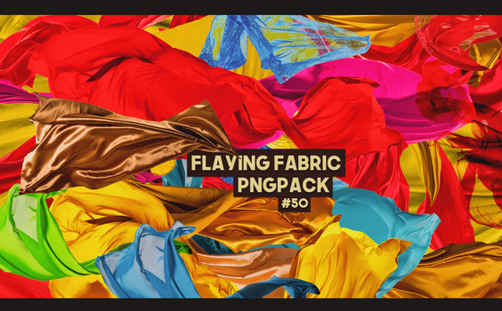 Flying Fabric Pngpack #50 by LilithDemoness