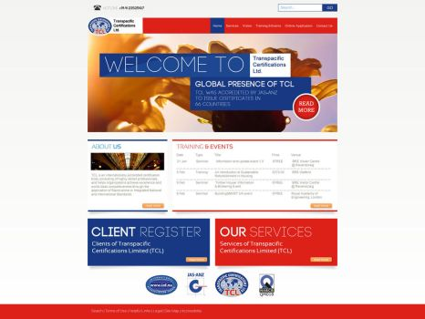 TCL certifications ~ website by adraaay