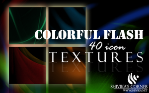 Colorful Flash Icon Textures by spiritcoda