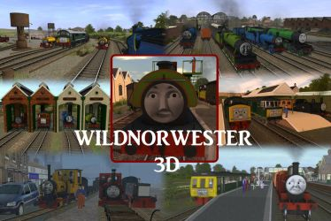 Wildnorwester 3D: Happy Birthday by GBHtrain