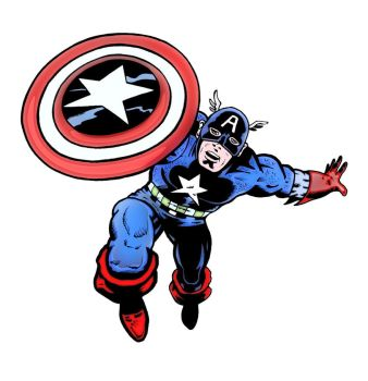 Captain America by mikedaws