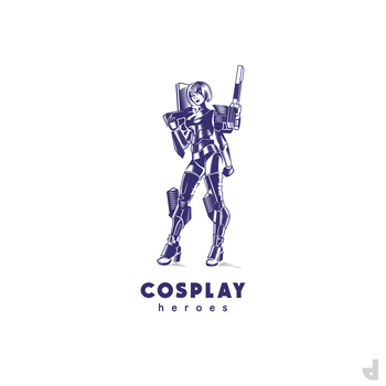Cosplay Heroes Logo by Area-44