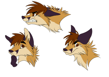 [Commission] NickRoth Expressions by FigoFox