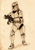 Clone Trooper by Mitch-el