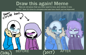 Nothing Happened (Draw this again! Meme) by MickaaaCHy
