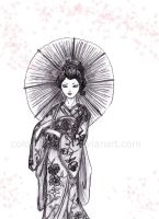 geisha by colorprovider