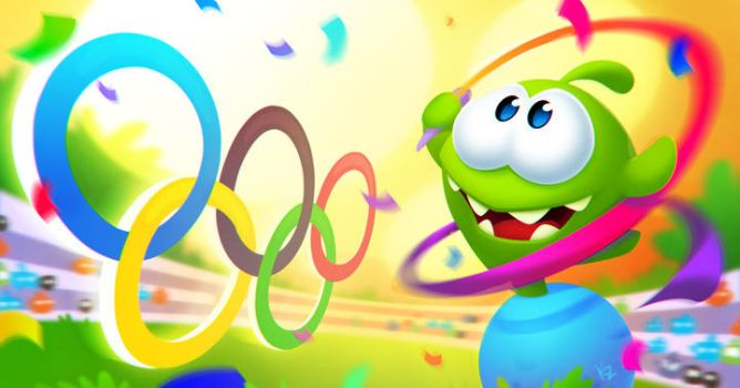 Olympic Om Nom 2016 by Beffana