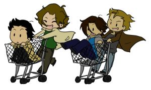 SPN-- New in Town by KaruLeonnese