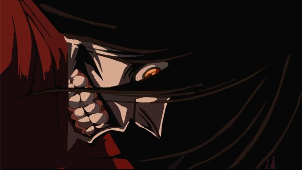Happy Alucard by Cosmicmoonshine