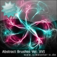 Abstract Brushes vol. 16 - 5x by basstar