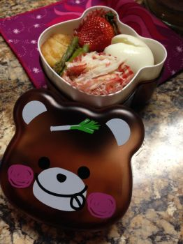Red Panda Bento by Demi-Plum