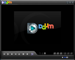 PotPlayer Skin: KmPlayer3.1Skin with daum-logo by Gabee8