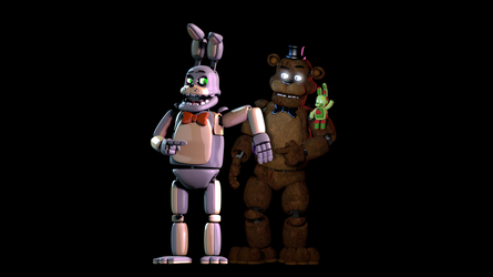 Robby and Freddy by SonicTFMLP123