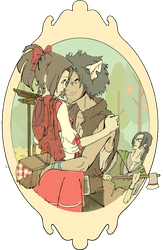 SamuraiChamploo Red Riding Fuu by Sweet-As-Spice