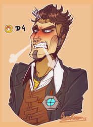 Handsome Jack D4 by Cryo-Tech