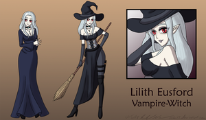 Lilith the Witch of the Wilds by Sabi-Cat-13