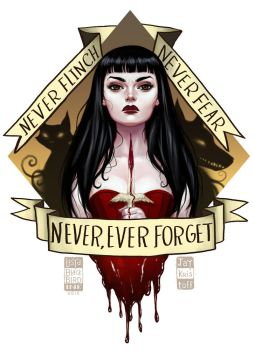 Never, Ever Forget by BlackBirdInk