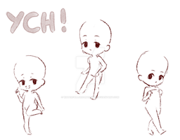 Tiny Chibis! YCH | 15 slots | OPEN by WaterfallDreamAdopts