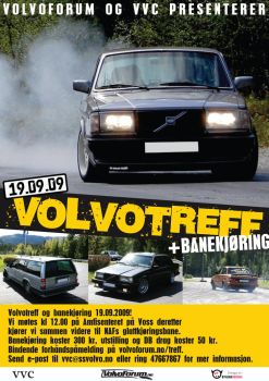 Volvo Meeting Flyer by StiligeCecilie