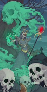 Power Lich by Tomaire