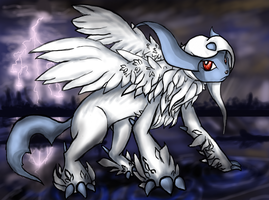 Absol by DimensionXXIV