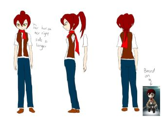 Rosetta Dianne character setting by Tyxant