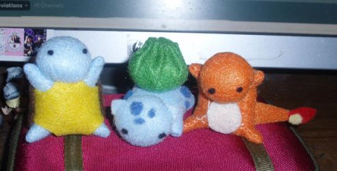 Teeny Pokemon Buddies by StitchyGirl