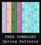 FREE DOWNLOAD - Spring Patterns by PointyHat