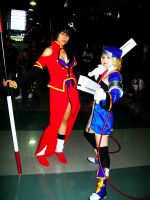Noel and Litchi by PrisCosplay