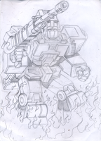 IDW/somewhat made-up Autobot HOTSPOT pencils by Natephoenix