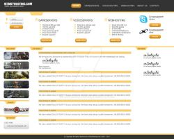 Hosting Template by w3nky