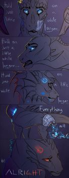 [DI/DBH] Hold On Just a Little While Longer by Mollish