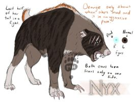 Nyx - Adoption Tryout by Mirgy