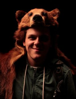 Bear's Bear Headdress III by NaturePunk