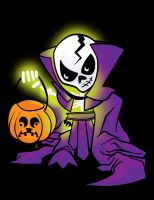 Scare Glow : The Ghost of Skeletor by ljamal