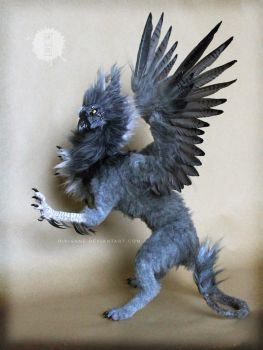 Griffin art doll by hikigane