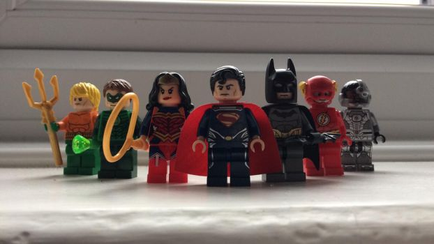 LEGO Justice League (New 52) by JGEBradford