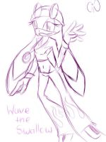Wave the Swallow by amy4sonicluva