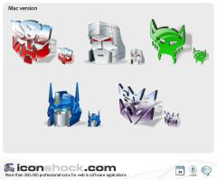 Transformers Web icons by Iconshock
