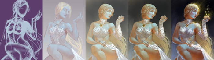 White witch - process by chirun